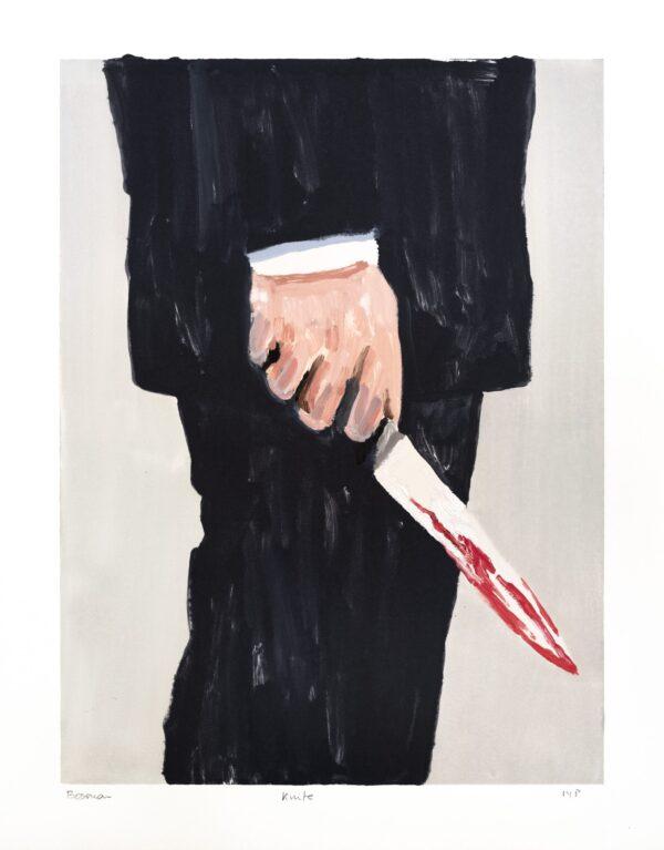 Richard Bosman, Knife 2, 2019
