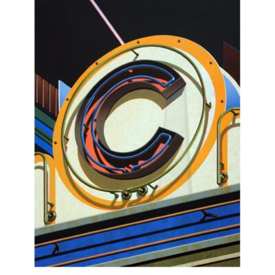 Robert Cottingham, An American Alphabet: C, 2010