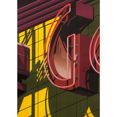 Robert Cottingham, An American Alphabet: G, 2009