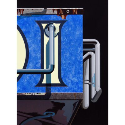 Robert Cottingham, An American Alphabet: I, 2009