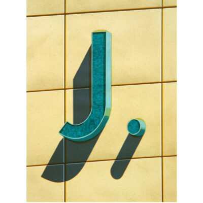 Robert Cottingham, An American Alphabet: J, 2003