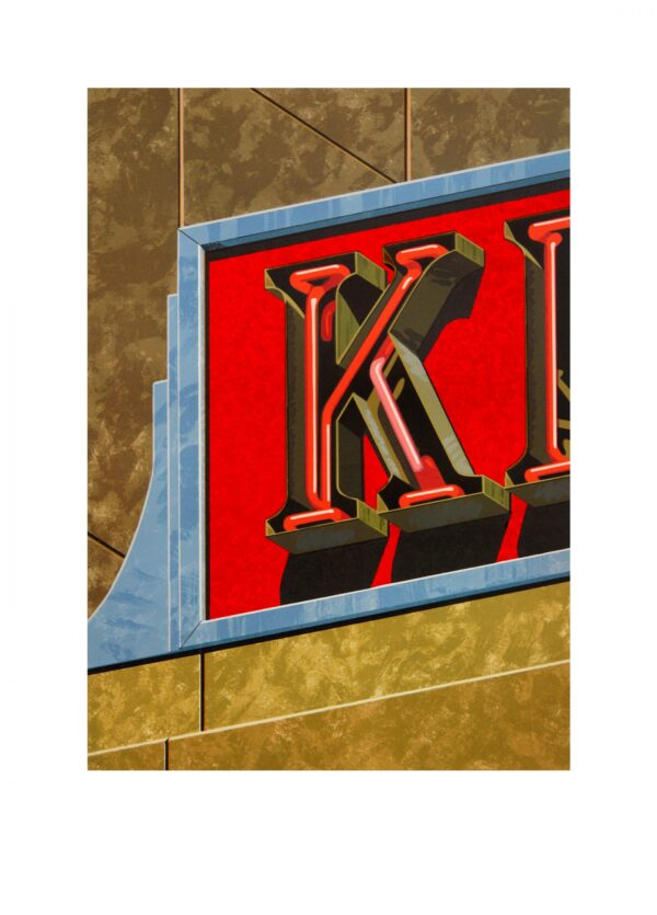 Robert Cottingham, An American Alphabet: K, 1997