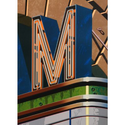 Robert Cottingham, An American Alphabet: M, 2002