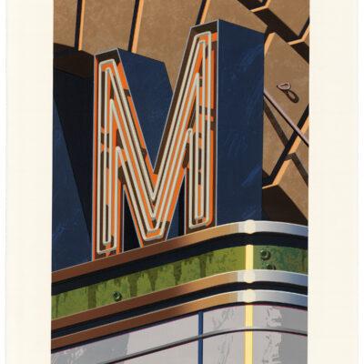 Robert Cottingham, An American Alphabet: M, 2002