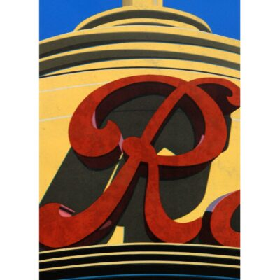 Robert Cottingham, An American Alphabet: R, 2002