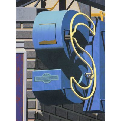Robert Cottingham, An American Alphabet: S, 2007