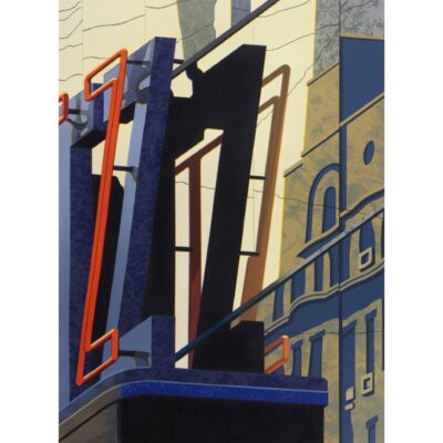 Robert Cottingham, An American Alphabet: Z, 2008