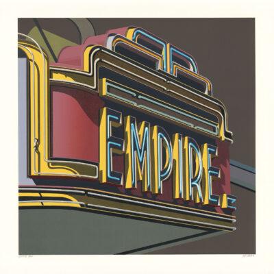 Robert Cottingham, Empire, 2012