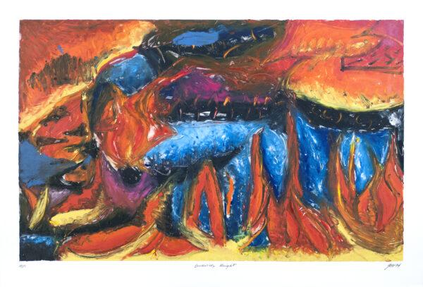 George Cramer, Burning Bright, 1994