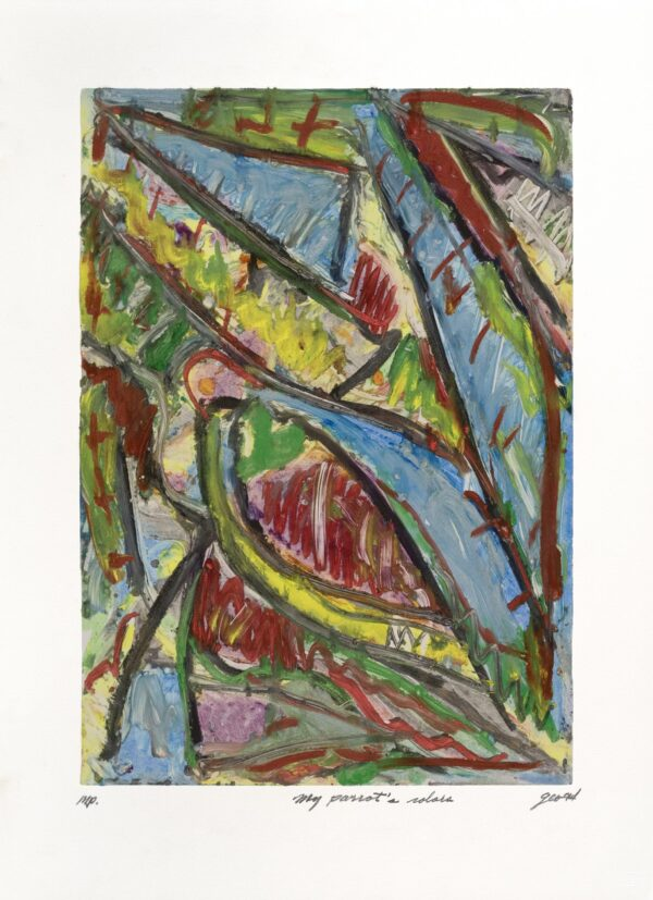 George Cramer, My Parrot's Colors, 1994