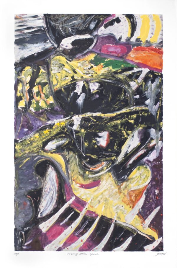 George Cramer, Oozing Through Space, 1994
