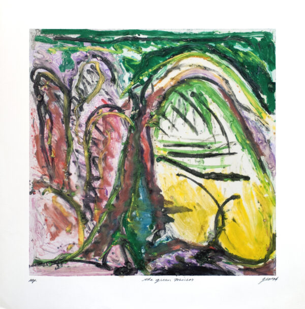 George Cramer, The Green Mirror, 1994
