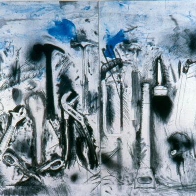 Jim Dine, The Sky in Madison, 2004