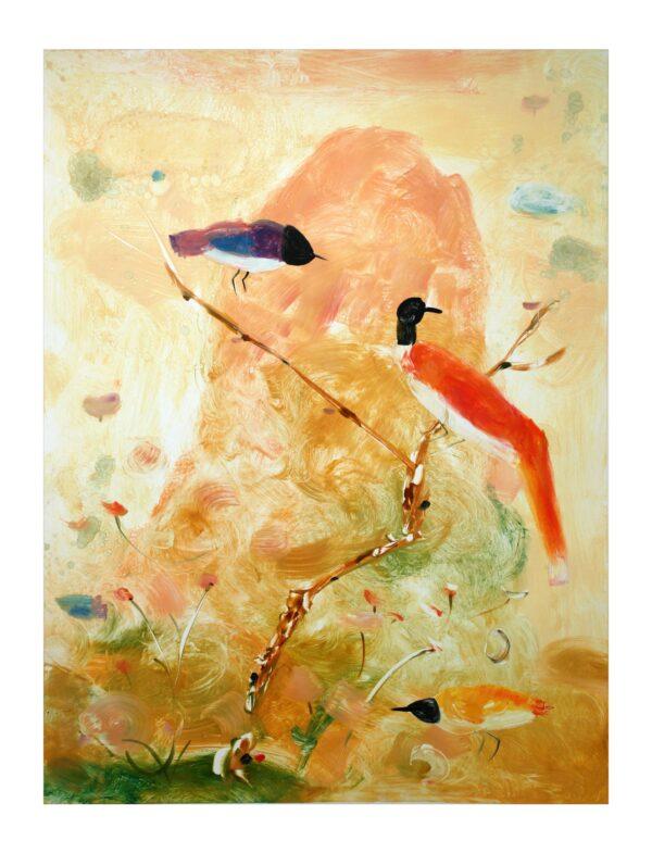 Valentina DuBasky, Adagio Mountain Birds, 2013