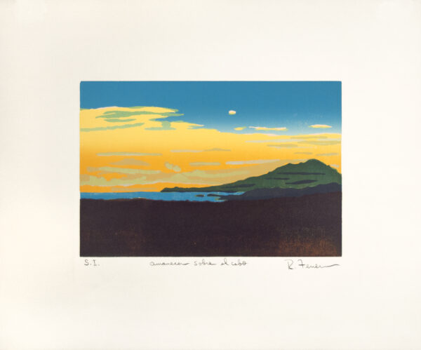 Rafael Ferrer, Amanecer Sobre el Cabo (Dawn Over the Cape), 1988