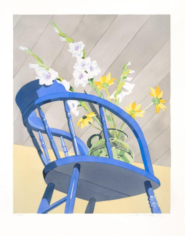 Sondra Freckelton, Blue Chair, 1995
