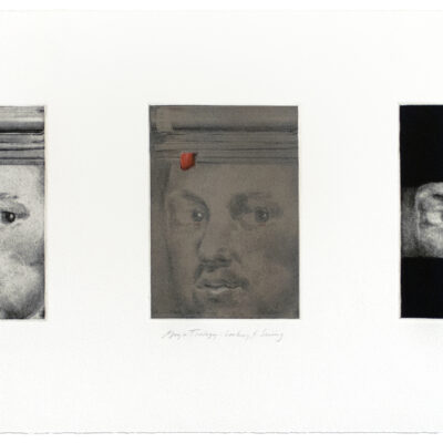 Joseph Goldyne, Goya Trilogy: Looking and Seeing, 1994