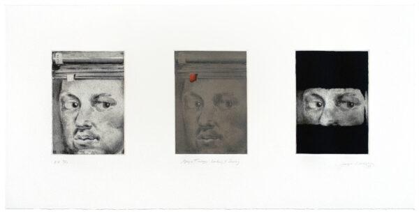 Joseph Goldyne, Goya Trilogy: Looking and Seeing, 1994