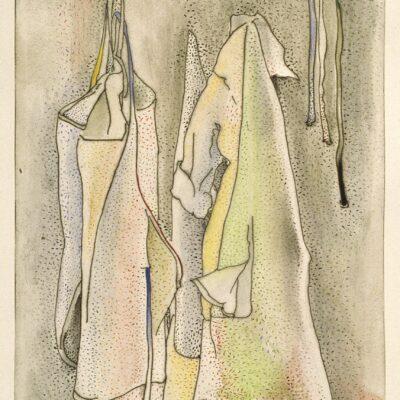 Joseph Goldyne, The Drizzle of Art History, 1994