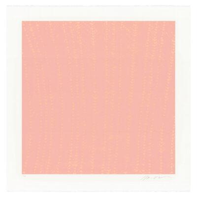 Michelle Grabner, Pink Crochet Ripple, 2015