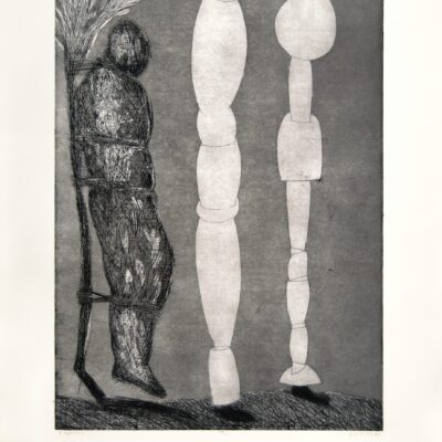 Gronk, Figures, 1994