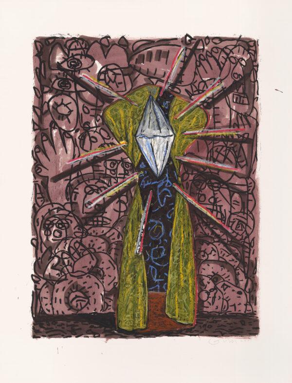 Gronk, Untitled (Tormenta Series #4), 2001