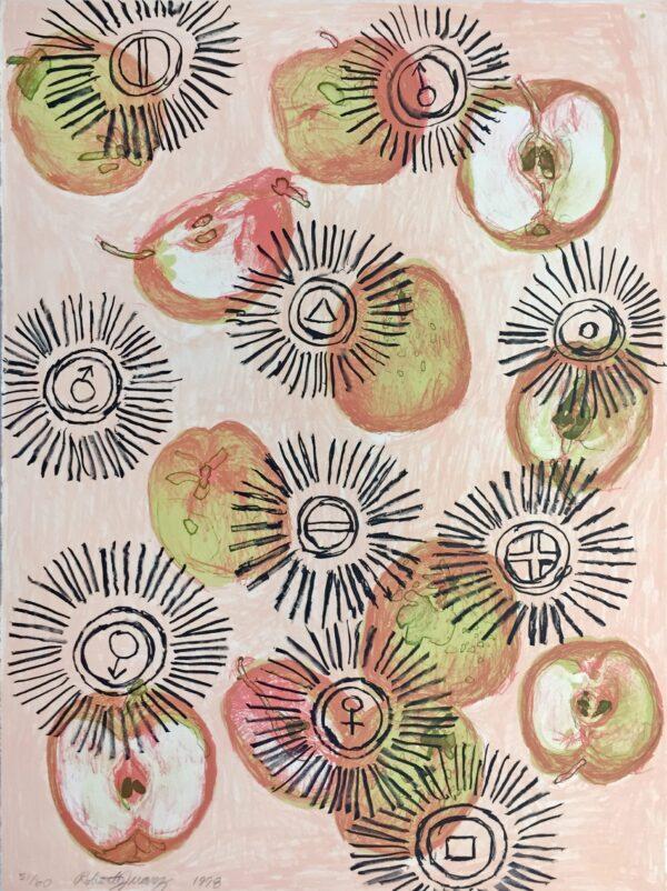 Roberto Juarez, Apple Oil I, 1998