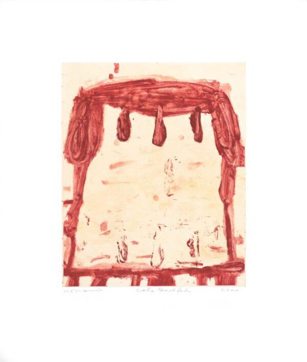 Gary Komarin, Cake Blood Red (GK00 607.29), 2000