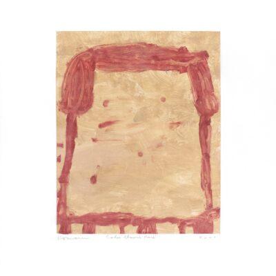 Gary Komarin, Cake Blood Red (GK00 607.34), 2000