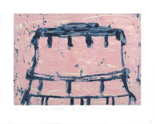Gary Komarin, The Blue Cake (GK00 610), 2000