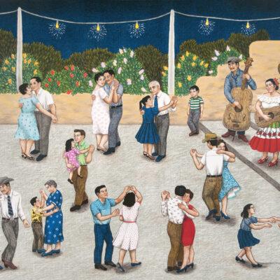 Carmen Lomas Garza, Baile, 2001