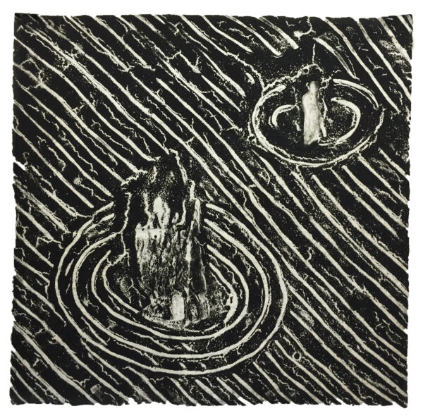 David Lynch, Untitled (2 dark), 1999