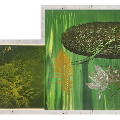 Judy Pfaff, Untitled (target, garden, lily pad), 2000