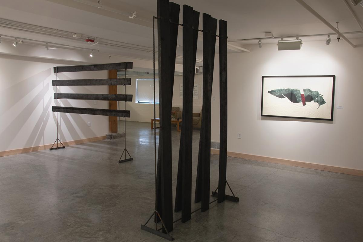 Tandem Press Apex Gallery Exhibition Carissa Kalia Heinrichs: As the Crow Flies Master of Fine Arts Thesis Exhibition April 12-April 27, 2019