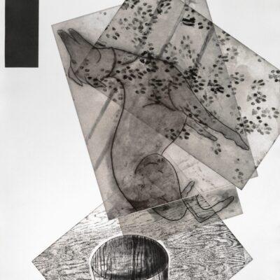 Frances Myers, Leaping Dog, 1990