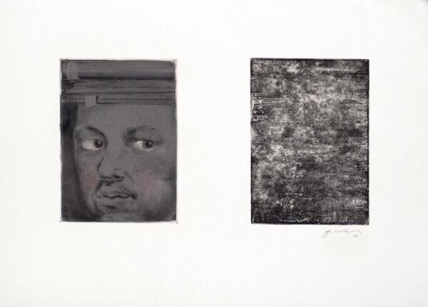 Joseph Goldyne, Untitled Monoprint, 1994