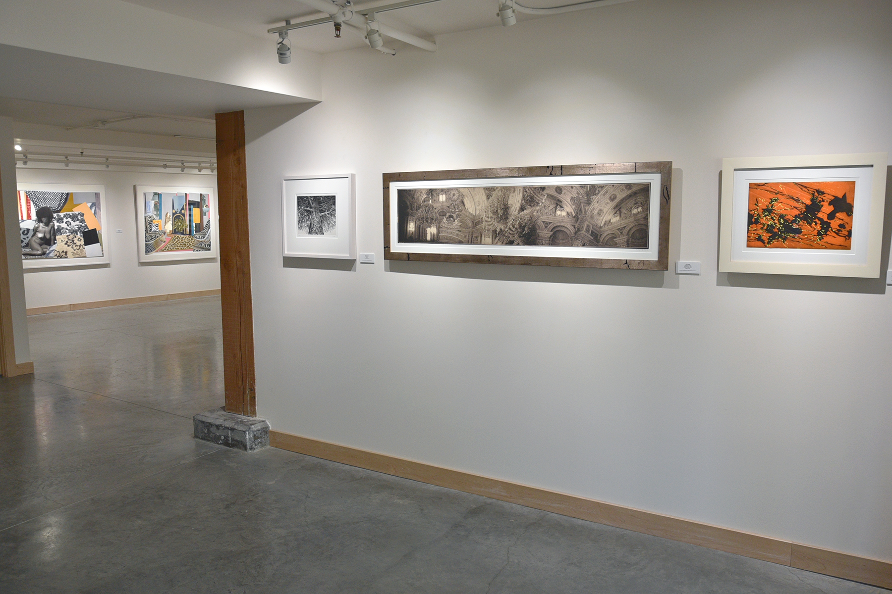 Tandem Press Apex Gallery Exhibition Immersed  January 13–February 21,  2020