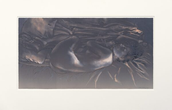 Ruth Weisberg, Night, 1998 (shown with mat)