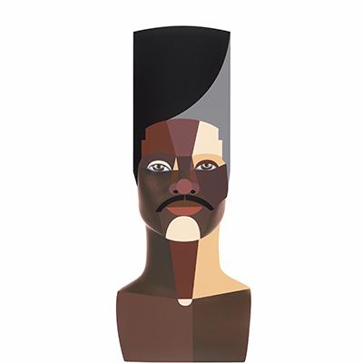 Derrick Adams, Style Variation 3 (High Top), 2020 (thumbnail)