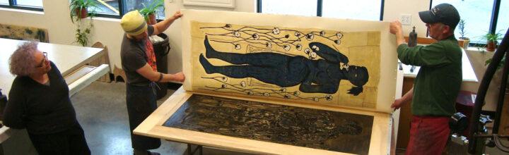 Read: Hyperallergic, <em>Meet LA's Art Community: Alison Saar on Her Harriet Tubman Monument and Finding Inspiration</em>
