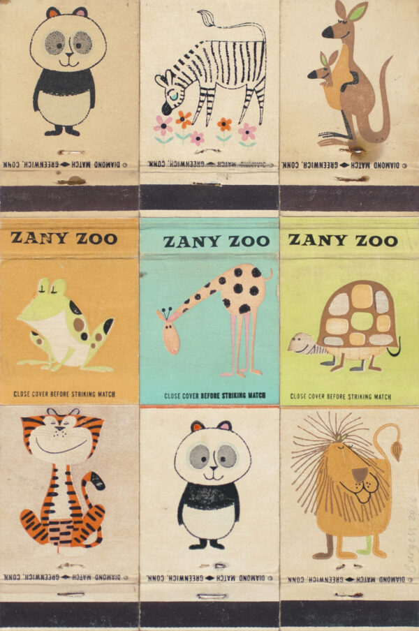 Andy Burgess, Zany Zoo II, 2016