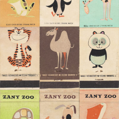 Andy Burgess, Zany Zoo I, 2016