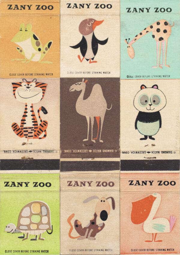 Andy Burgess, Zany Zoo I, 2016
