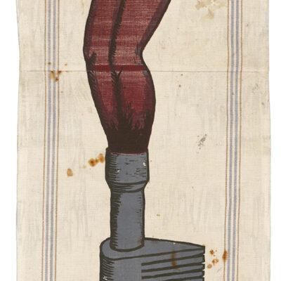 Alison Saar, Big Singe [1/18], 2021